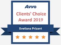 AVVO Client Svetlana Prizant 2019