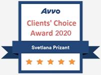 AVVO Client Svetlana Prizant 2020