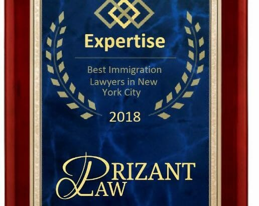 Prizant Law Asylum Immigration law Award